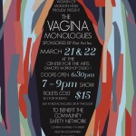 Vagina Monologues Poster flower